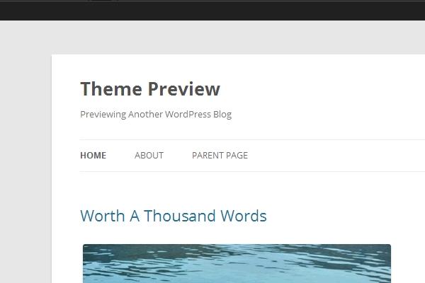 Menu in WordPress