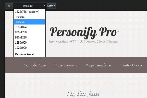 Mozilla-Responsive-Design-View