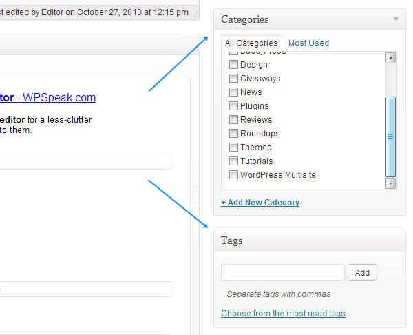 WordPress-metaboxes