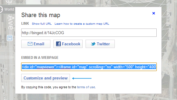 embed-Bing-Maps