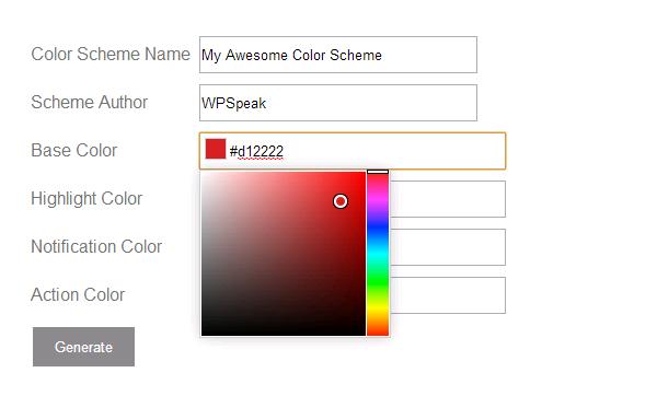 Admin-Color-Scheme-Generator