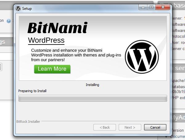 Install-Bitnami-with-XAMPP